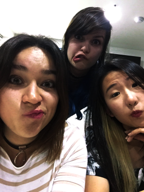 Ready for a night out with Ivonne and Clarice (Singaporian, NOT Korean)